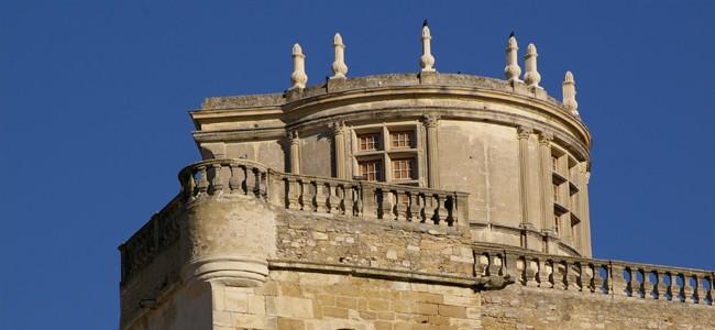 Le chateau de Grignan qui peut se visiter