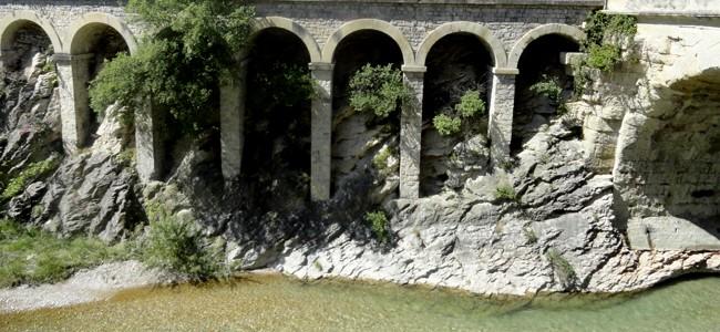 Rivière en Drome