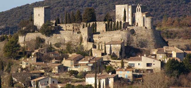 Le village de Roussas